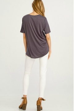 Wishlist Basic V-Neck Tee - Alternate List Image