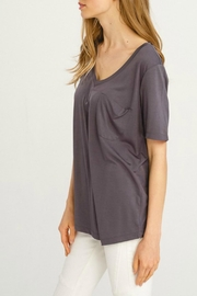 Wishlist Basic V-Neck Tee - Front full body