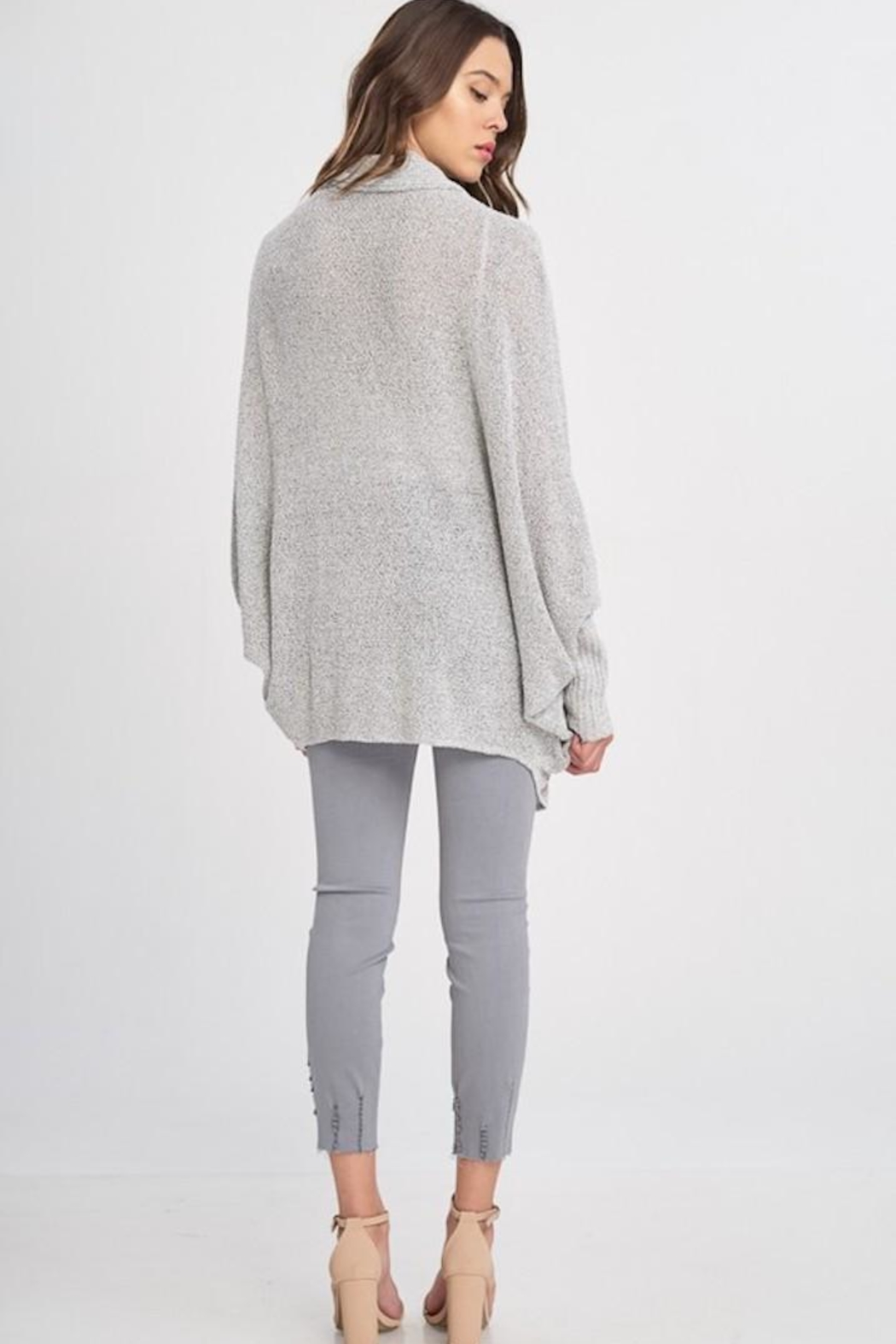 Wishlist Batwing Sleeve Cardigan - Side Cropped Image