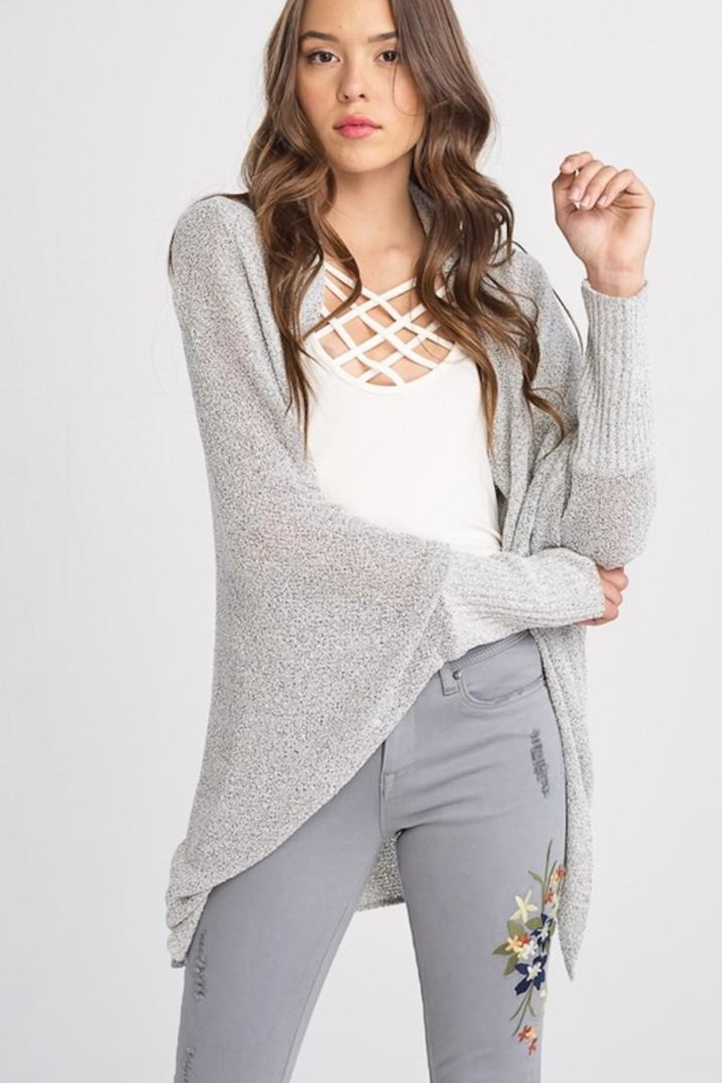 Wishlist Batwing Sleeve Cardigan - Main Image