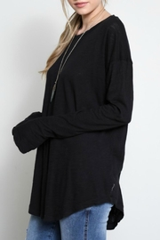 Wishlist Black Basic Long-Sleeve - Product Mini Image