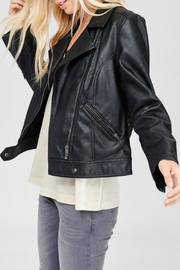 Wishlist Black Leather Jacket - Product Mini Image