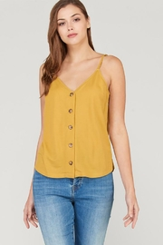 Wishlist Button Down Tank - Product Mini Image