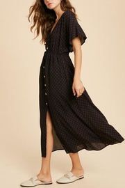 Wishlist Button-Down Waist-Tie Maxi-Dress - Side cropped