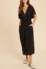 Wishlist Button-Down Waist-Tie Maxi-Dress - Other