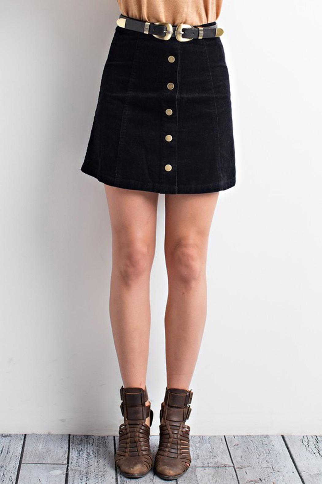 Wishlist Button Up Corduroy Skirt From New Jersey By Making Waves Shoptiques