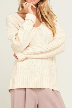 Wishlist Cable Knit Sweater - Product List Image