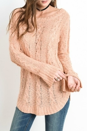 Wishlist Cable Knit Top - Product Mini Image