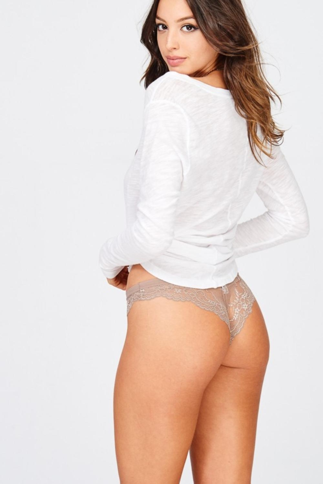 Wishlist Cheeky Lace Panty - Front Full Image