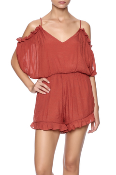 Shoptiques Product: Cold Shoulder Romper