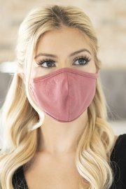 Wishlist Cotton Face Mask - Front full body