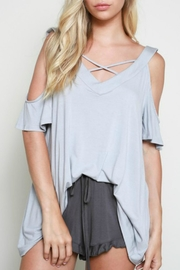 Wishlist Criss Cross Top - Product Mini Image