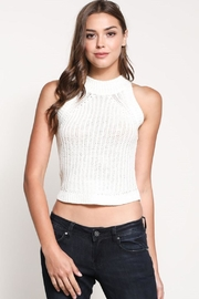 Wishlist Cropped Sweater Top - Front cropped