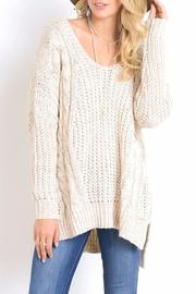 Wishlist Cross Back Sweater - Product Mini Image
