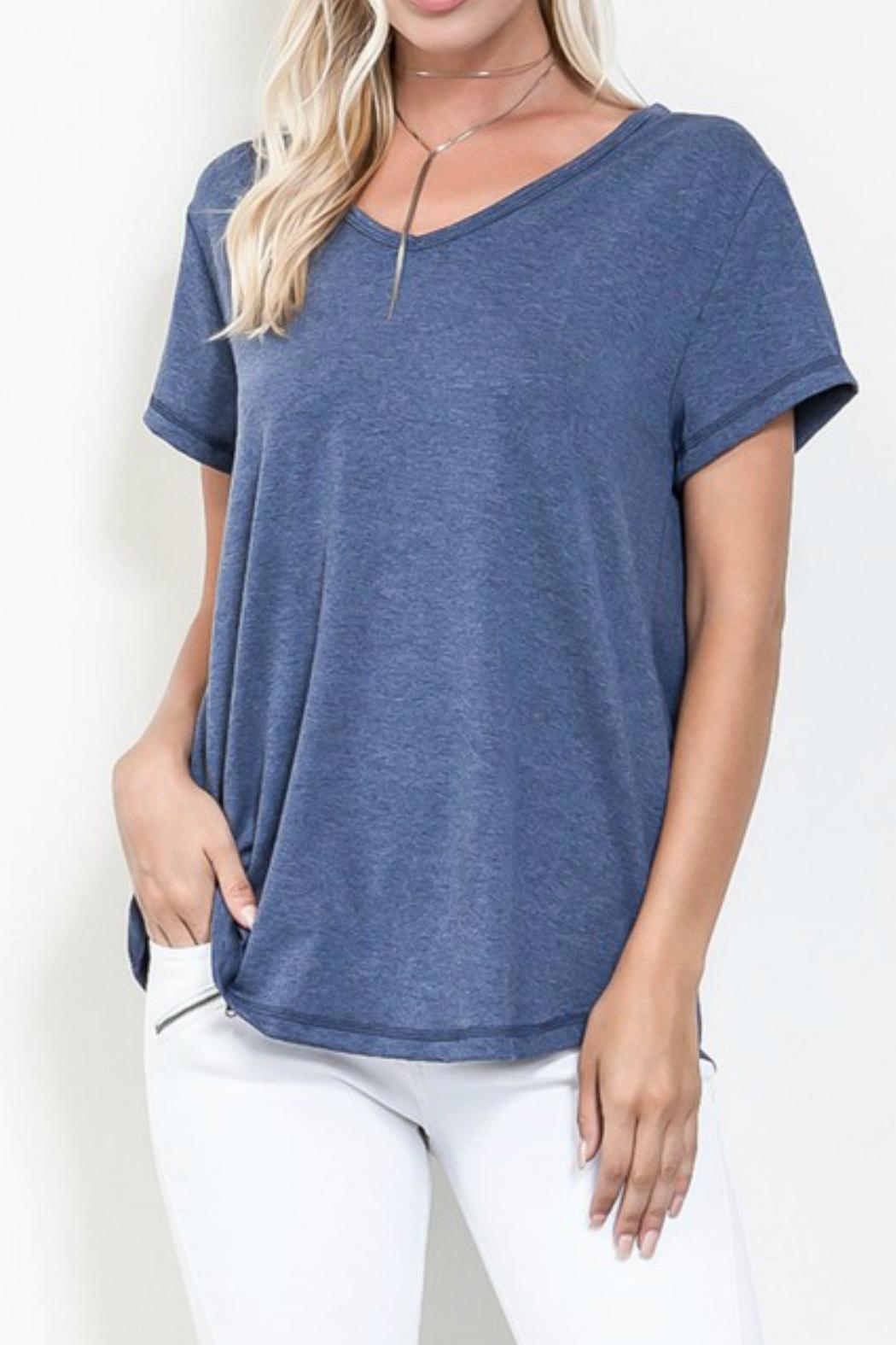 Wishlist Cross Back Top - Front Cropped Image