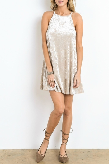 Wishlist Crushed Velvet Dress from New Jersey by Making Waves u2014 Shoptiques