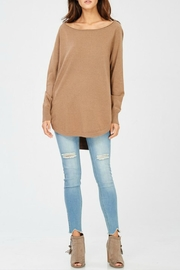 Wishlist Curved Hem Sweater - Product Mini Image