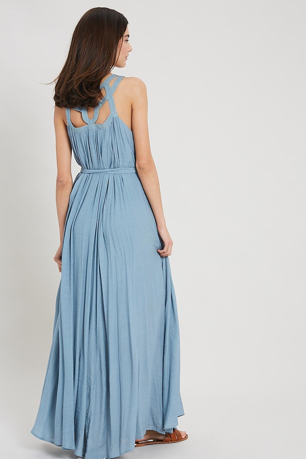 Wishlist Cut-Out Collar Maxi - Front Full Image