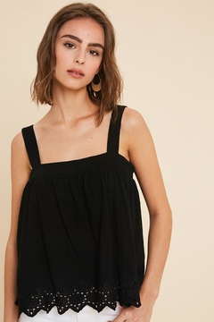 Wishlist Eyelet Trim Tank - Product List Image
