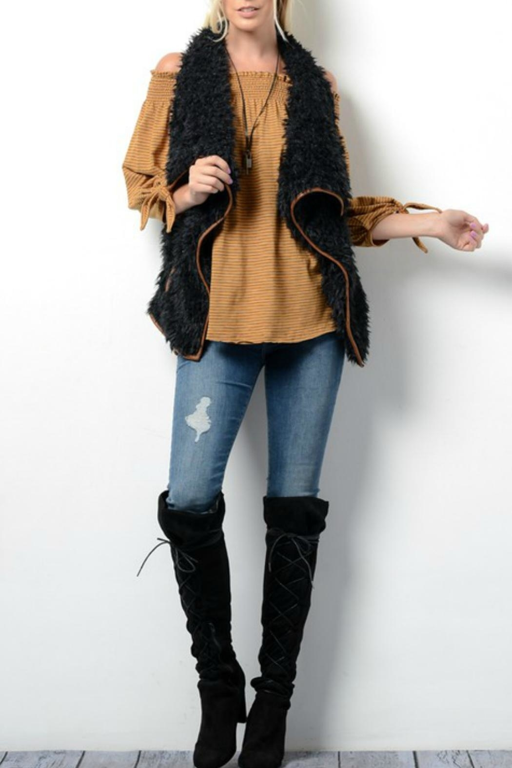 Wishlist Faux Fur Vest - Main Image
