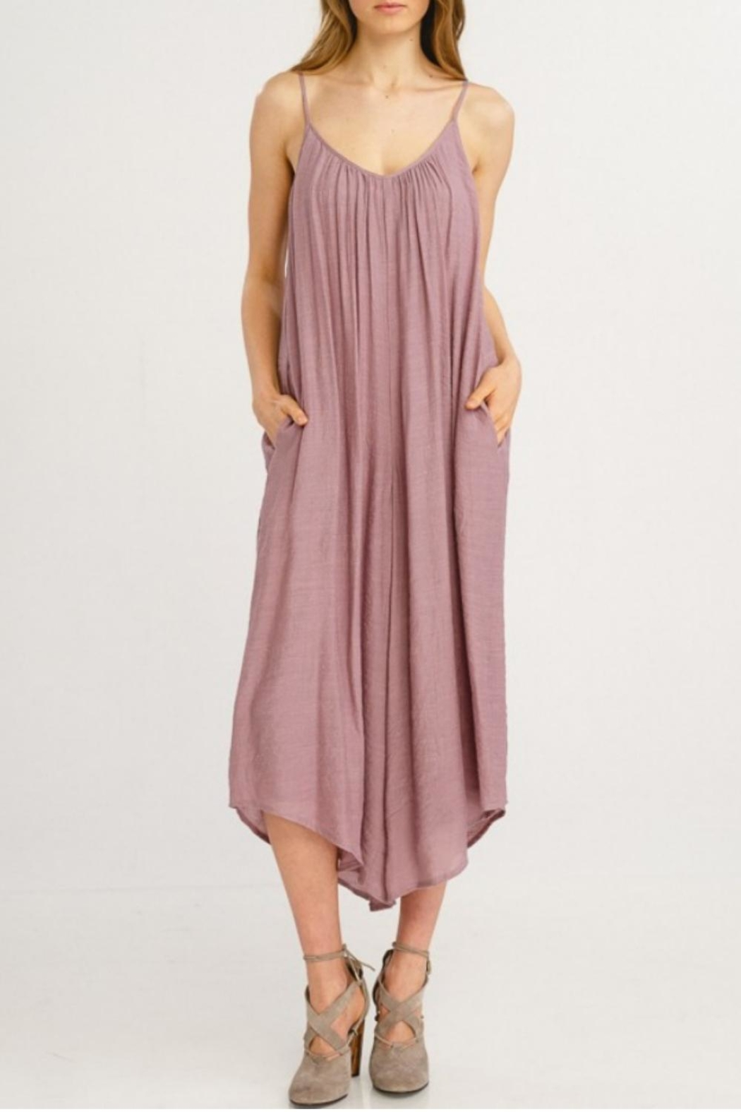 Wishlist Flowy Jumpsuit - Front Cropped Image