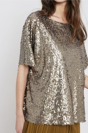 Wishlist Gold Sequins Tee - Product Mini Image
