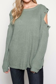 Wishlist Green Sweater - Product Mini Image