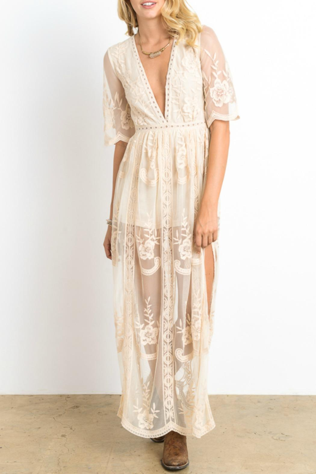 Wishlist Lace Maxi Dress from Minneapolis by StyleTrolley — Shoptiques