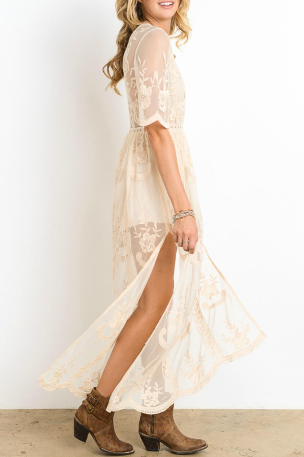 Wishlist Lace Maxi Dress From Minneapolis By Styletrolley