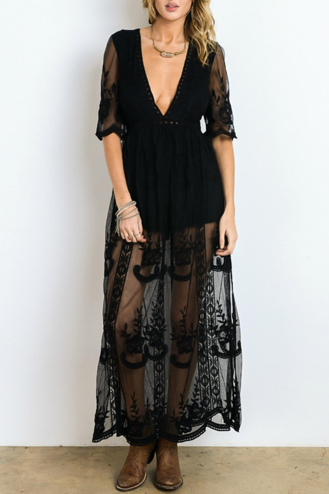 Wishlist Lace Maxi Dress from New Jersey by Making Waves — Shoptiques