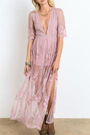 Wishlist Lace Maxi Dress - Product Mini Image