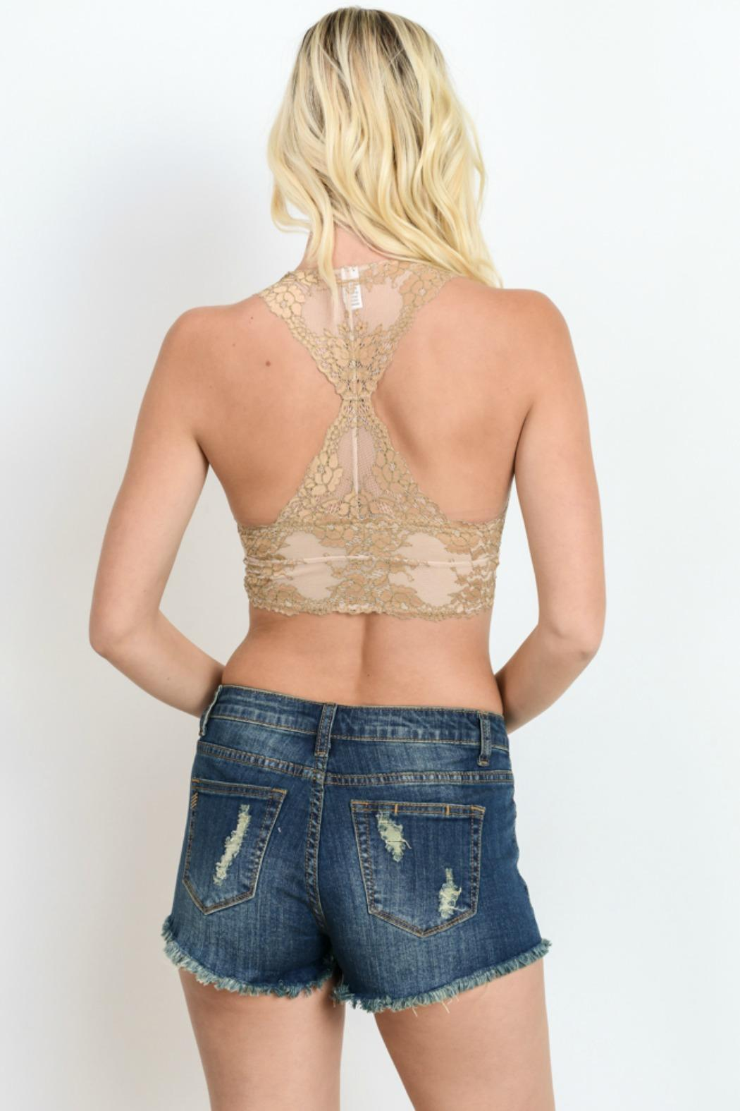 2eb76b1a20 Wishlist Two-Toned Lace Bralette from New Jersey by Making Waves ...
