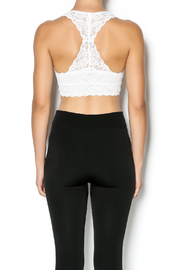 Wishlist Lacy Racer Back Bralette - Back cropped