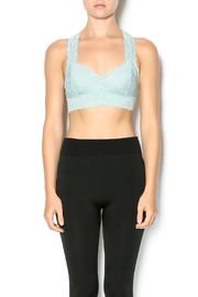 Wishlist Lacy Racer Back Bralette - Front cropped
