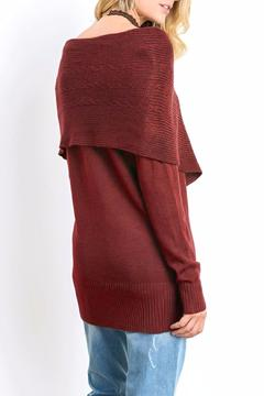 Shoptiques Product: Layered Cape Sweater