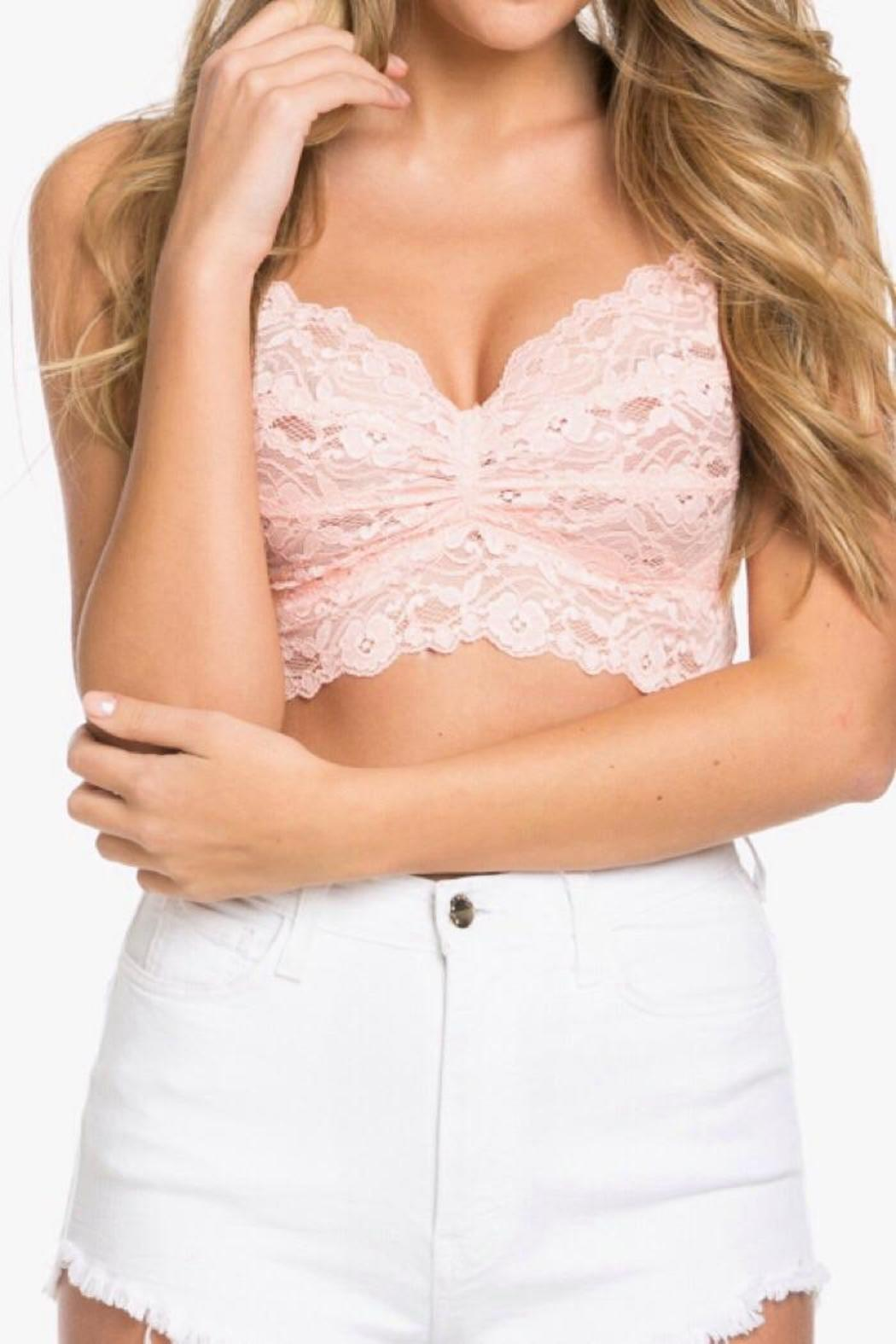 51bb1a6580c Wishlist Light Pink Bralette from Nevada by Tipsy Gypsy — Shoptiques