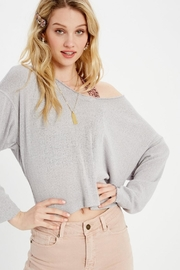 Wishlist Long Sleeve Knit Top - Front cropped