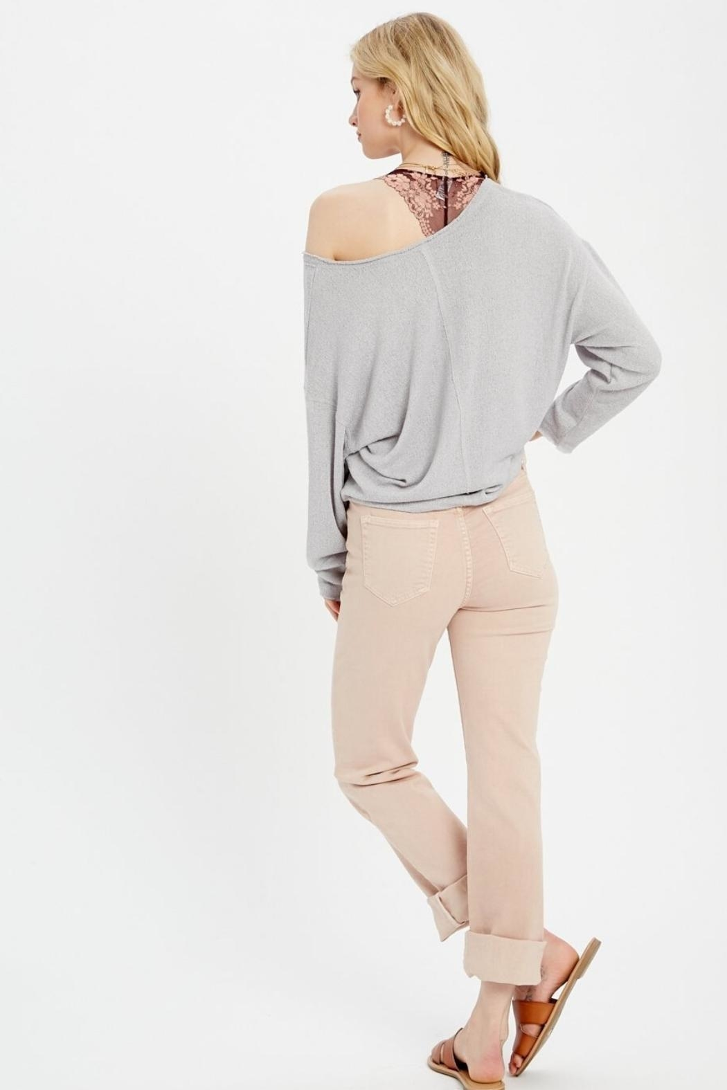 Wishlist Long Sleeve Knit Top - Front Full Image