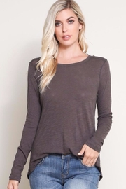 Wishlist Long Sleeve Tee - Front cropped