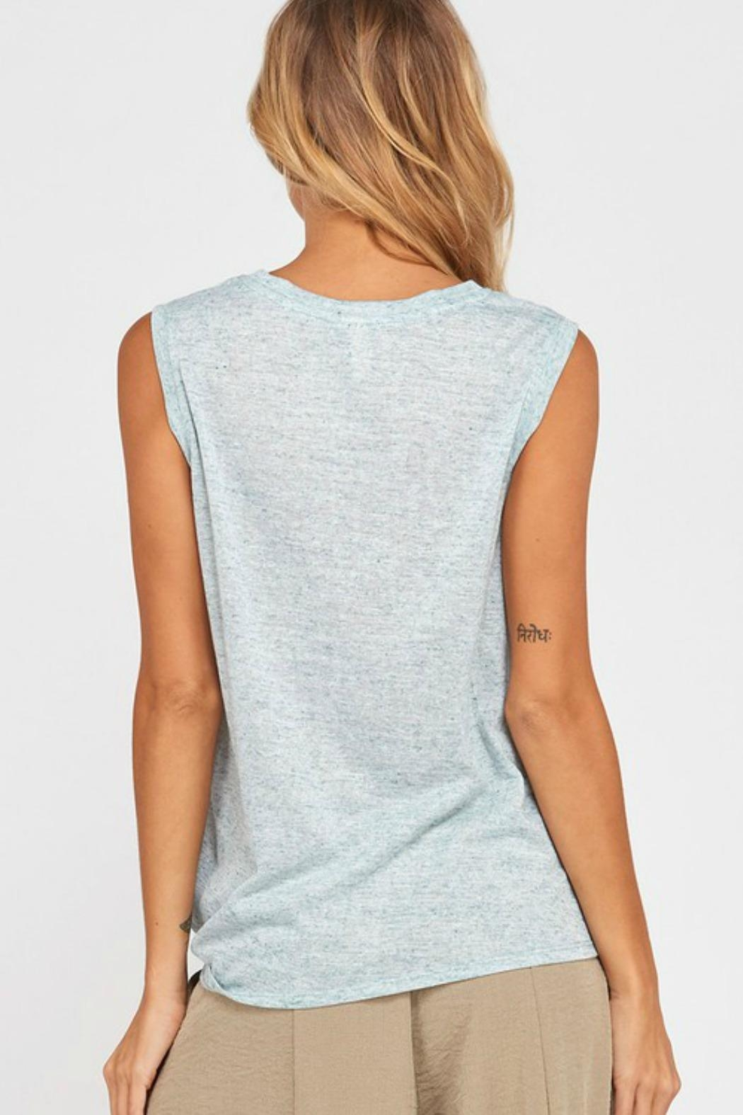Wishlist Mandy Knotted Tank - Side Cropped Image