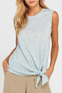 Wishlist Mandy Knotted Tank - Product List Image