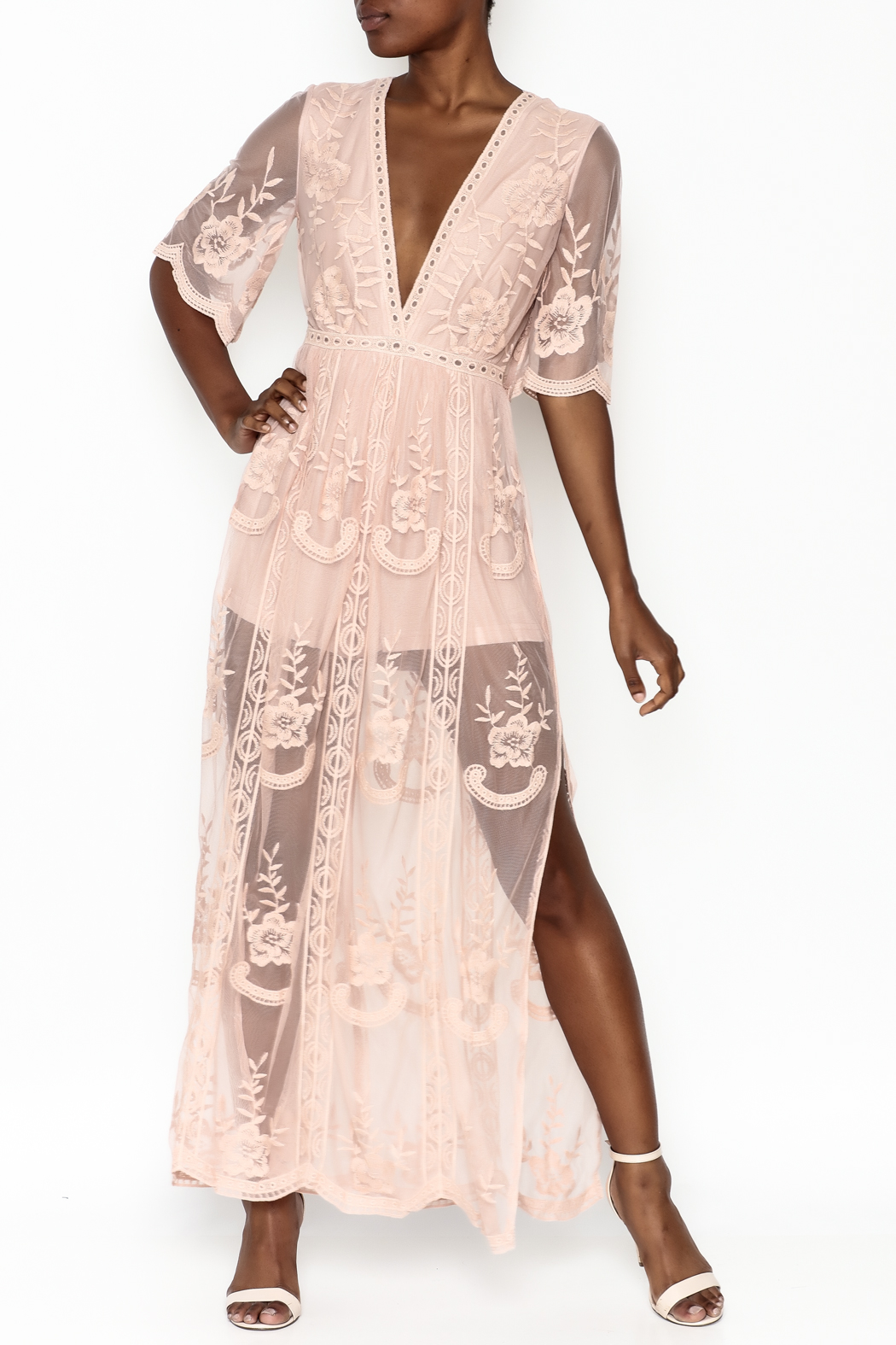 Wishlist Mila Maxi Romper Dress - Main Image