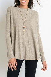 Wishlist Mock-Neck Basic Top - Product Mini Image