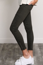 Wishlist Moto Olive Jeans - Front full body