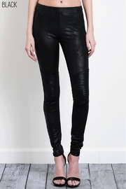 Wishlist Moto Vegan-Leather Leggings - Product Mini Image