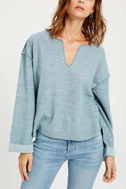 Wishlist Notch Neck Knit Top - Product Mini Image