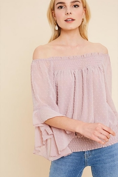 Wishlist Off-Shoulder Bell Top - Product List Image