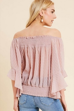 Wishlist Off-Shoulder Bell Top - Alternate List Image