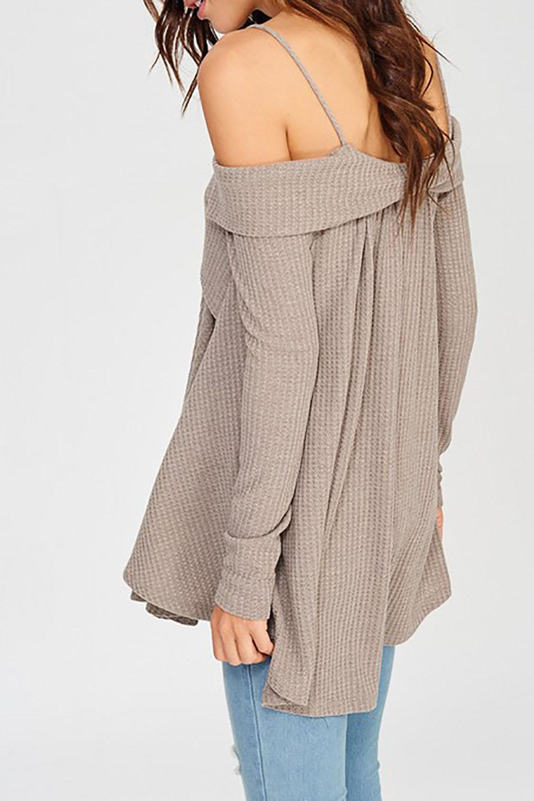 Wishlist Off Shoulder Thermal - Front Full Image