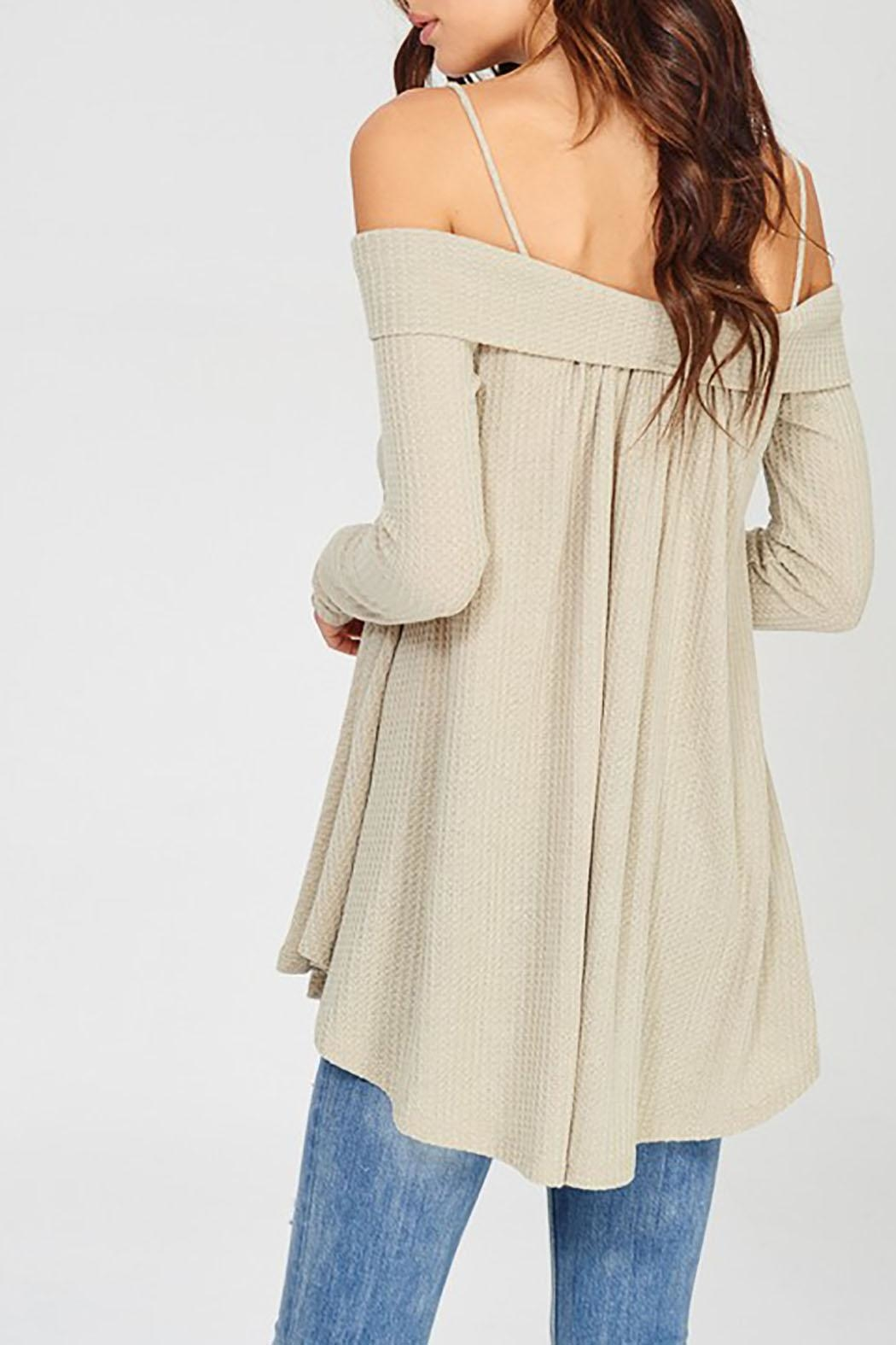 Wishlist Off Shoulder Thermal - Side Cropped Image